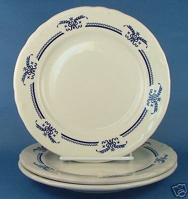 3-Shenango-Interpace-Restaurant-Dinner-Plate-Blue-Wheat