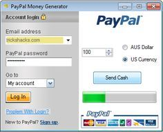 paypal money adder hack password