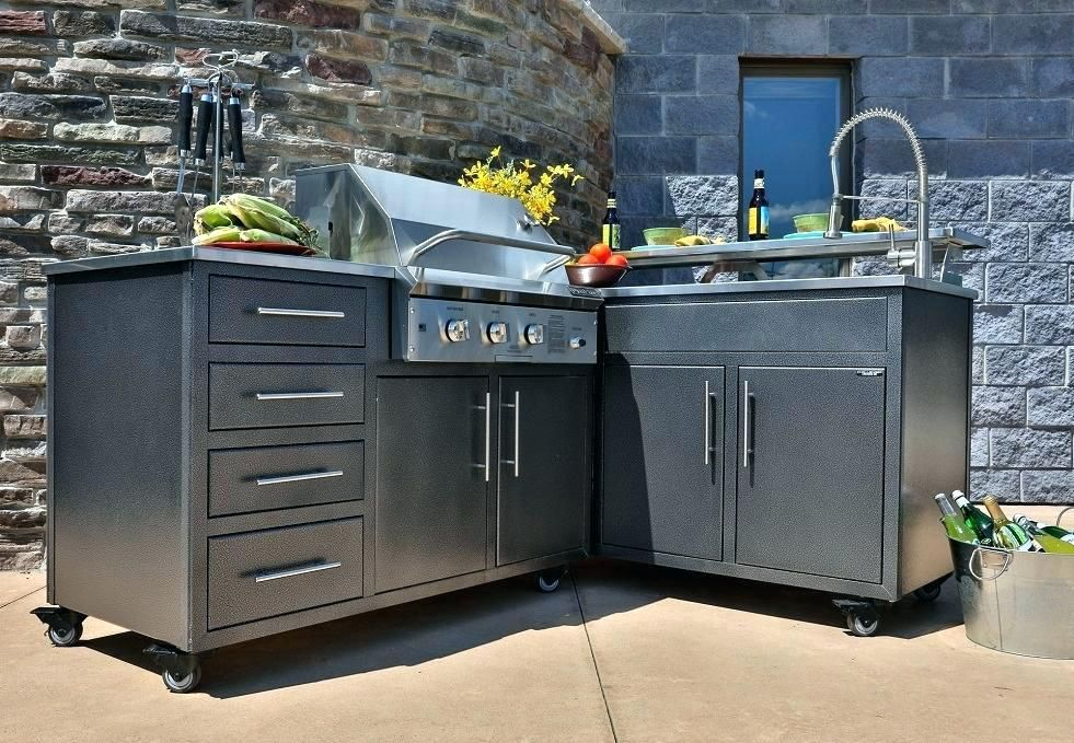outdoor stainless kitchen kits - Google Search | Outdoor ...