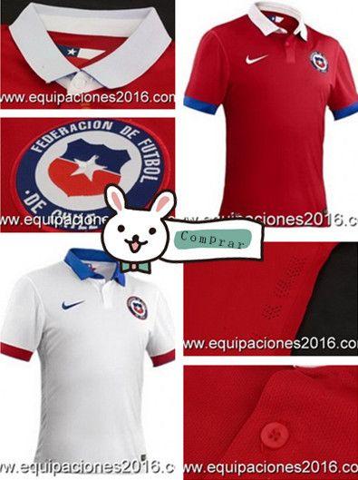 camiseta de Chile 2016  f82e50f68235c