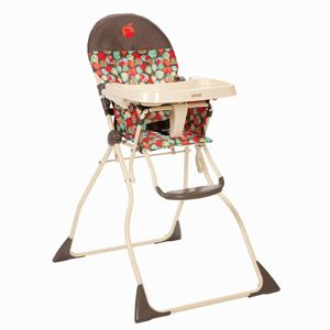 Cosco Flat Fold High Chair Apple Pie Folding High Chair High