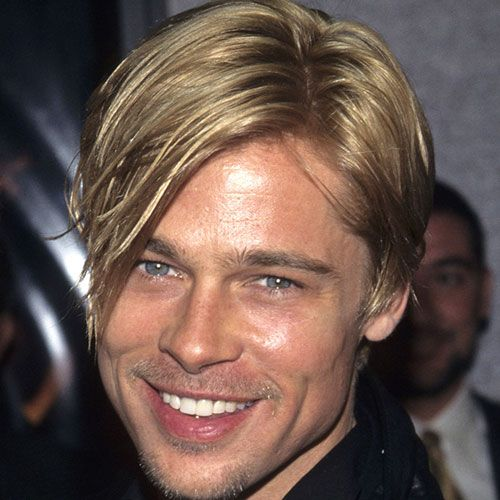 Brad Pitt Frisuren Männer Frisuren Pinterest Brad Pitt Bleach