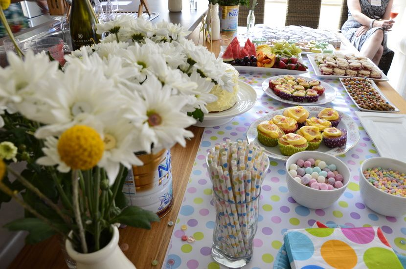Cute table spread.