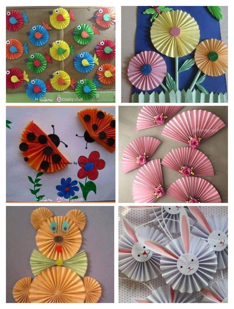 Paper Craft Ideas For Kids Paper Crafts Crafts Easy Crafts For Kids