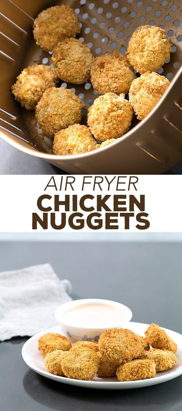 Air Fryer Chicken Nuggets Recipe Gluten free recipes for