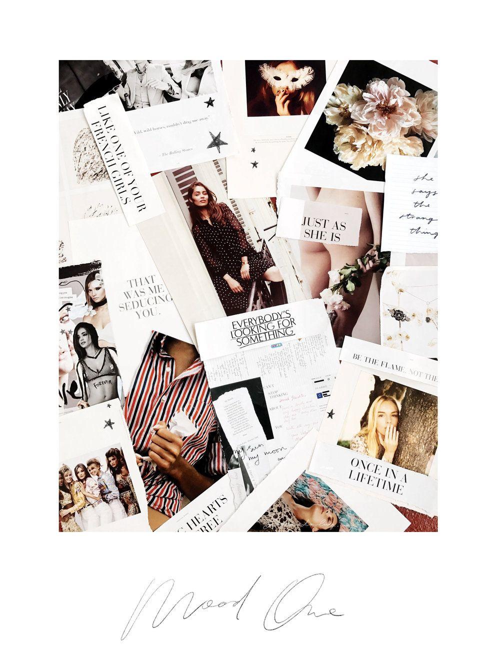 MOOD ONE — Jasmine Dowling