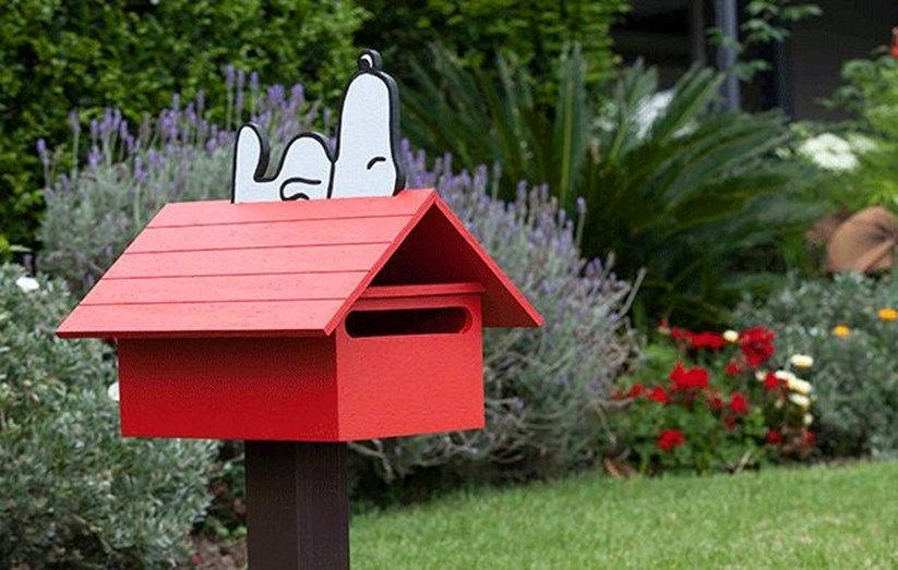 Build Your Own Snoopy Letterbox Wooden Mailbox Diy Mailbox