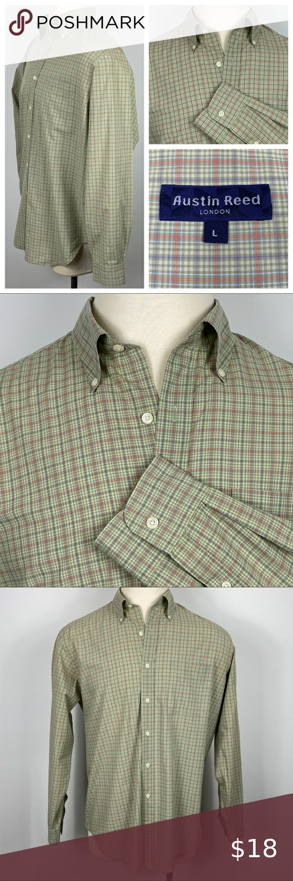 Euc Austin Reed London Dress Shirt Large London Dress Shirts Mens Shirt Dress Clothes Design