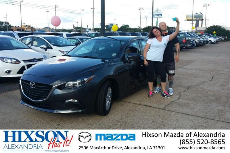"https://flic.kr/p/sJLRAt | #HappyAnniversary to Catherine Darbonne on your 2014 #Mazda #Mazda3 from Everyone at Hixson Mazda of Alexandria! | <a href=""http://www.hixsonmazda.com/?utm_source=Flickr&utm_medium=DMaxxPhoto&utm_campaign=DeliveryMaxx"" rel=""nofollow"">www.hixsonmazda.com/?utm_source=Flickr&utm_medium=DMa...</a>"