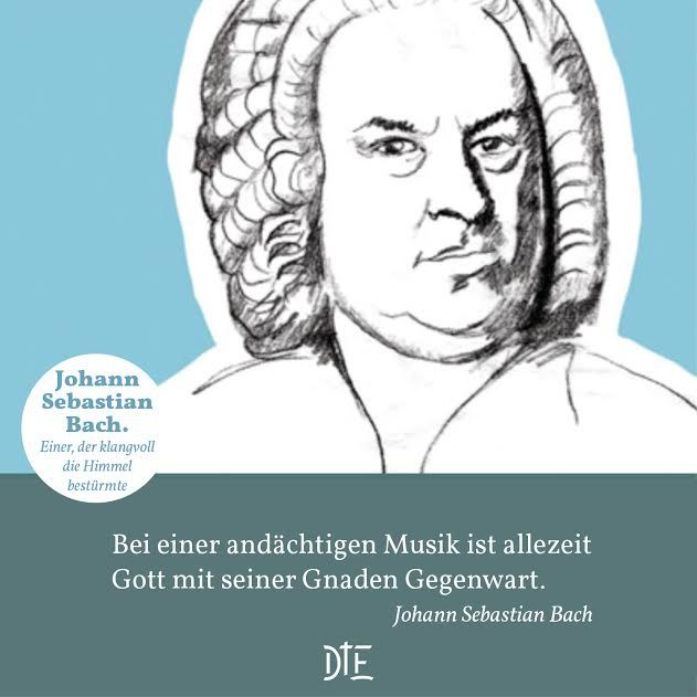 Johann Sebastian Bach. Einer, der klangvoll die Himmel ...
