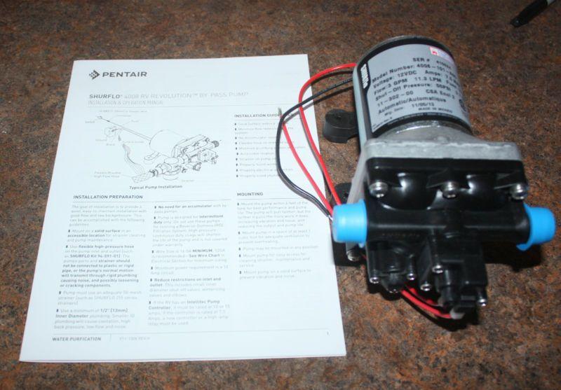 Shurflo Rv Water Pump Water Ionizer