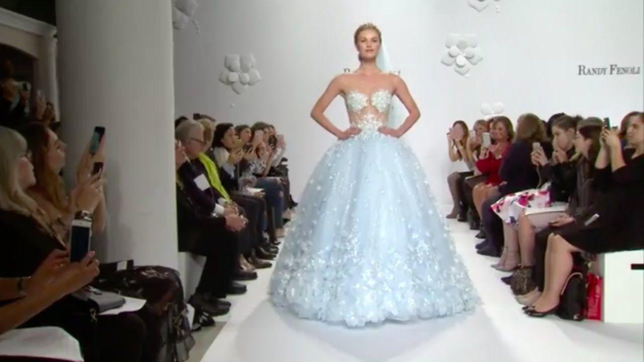 Randy fenoli full video bridal fashion week springsummer