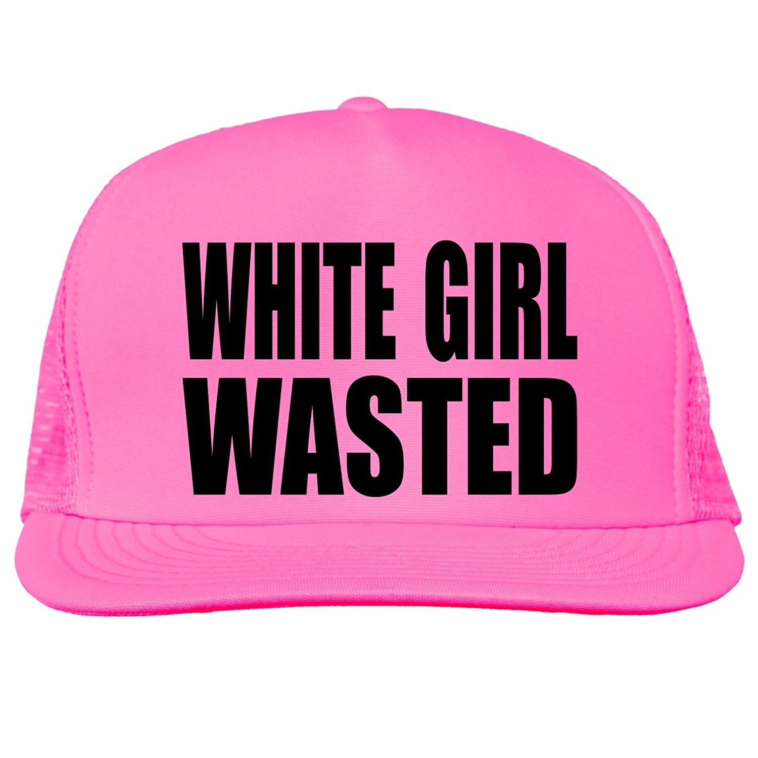 12a3f448cc7 White Girl Wasted Bright neon truckers mesh snap back hat in 6 Bright  Colors - Neon Pink - CK11MJC54HX - Hats   Caps