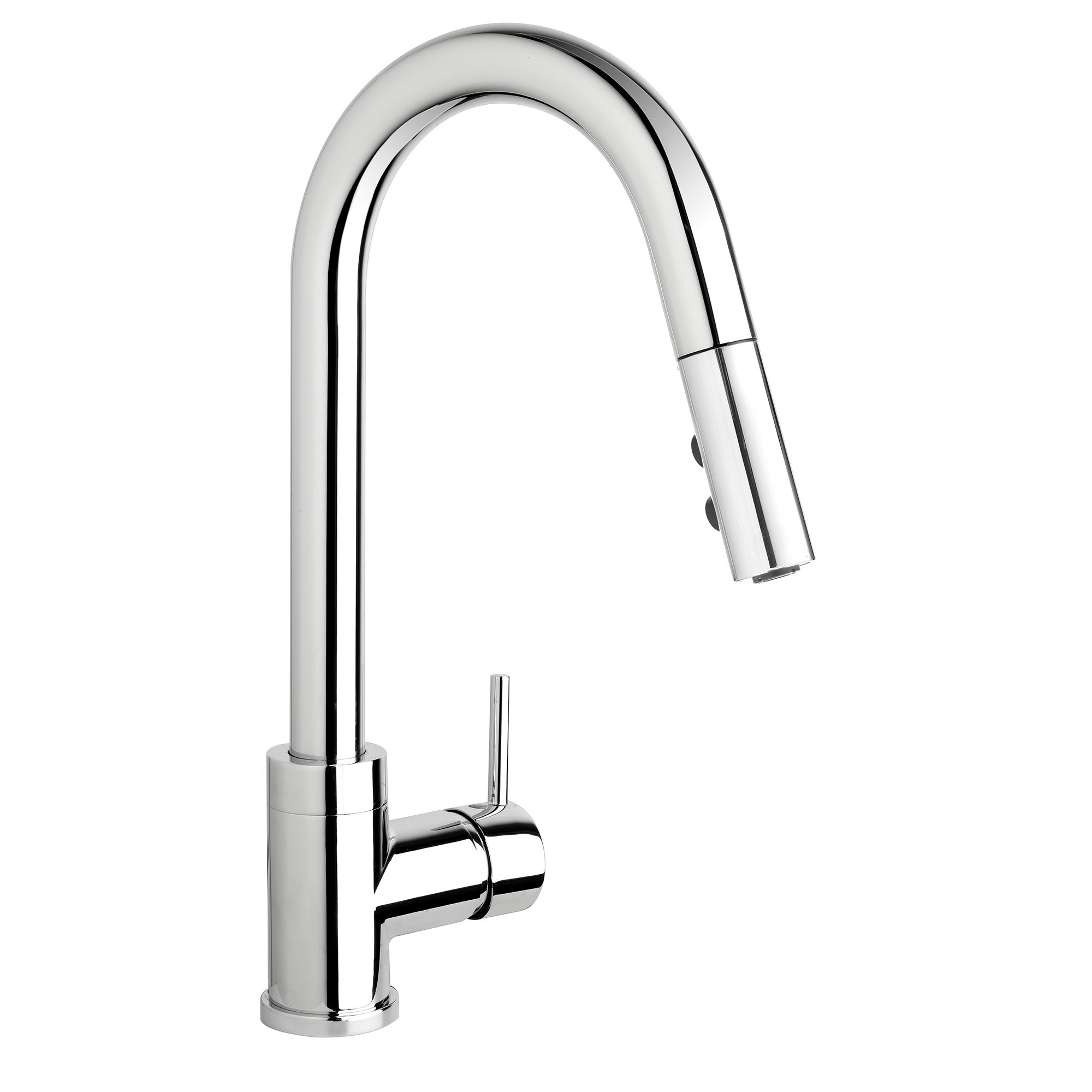 Belanger Slim Kitchen Sink Faucet With Swivel Pull Down Spout