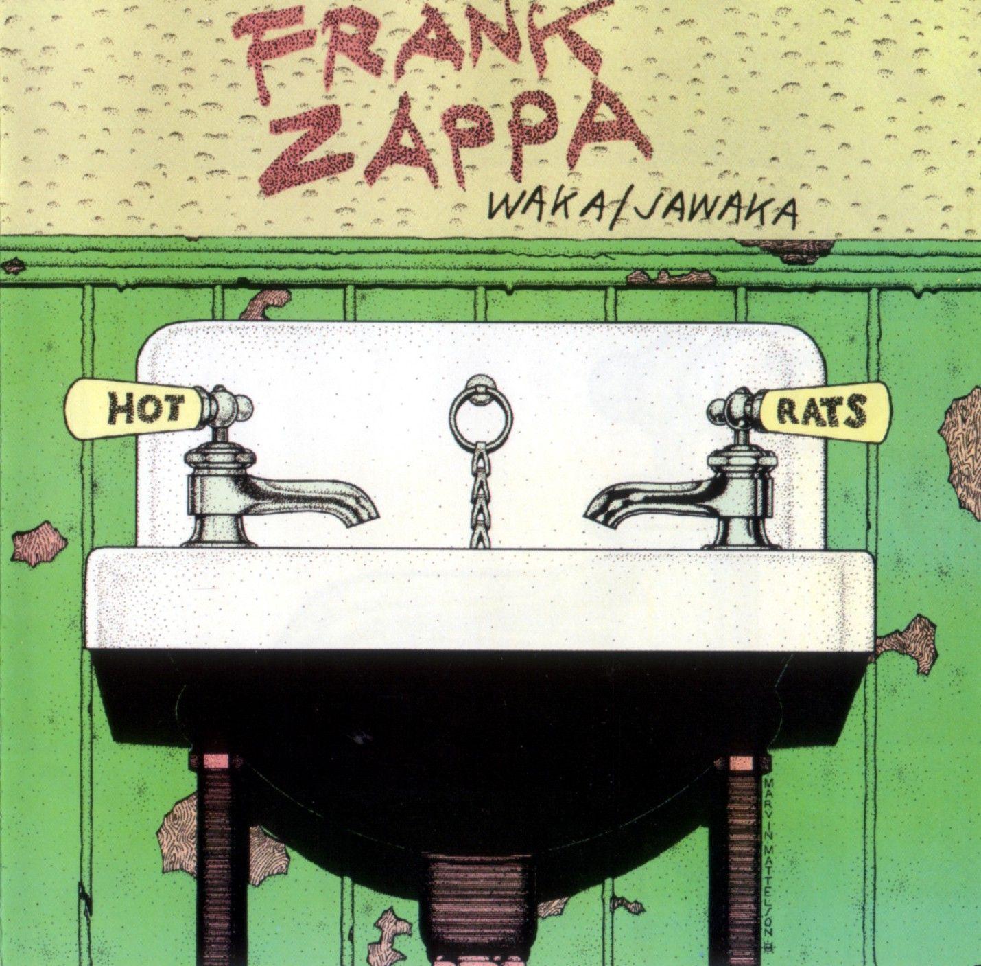 Frank Zappa Waka Jawaka Hot Rats Cover Illustration