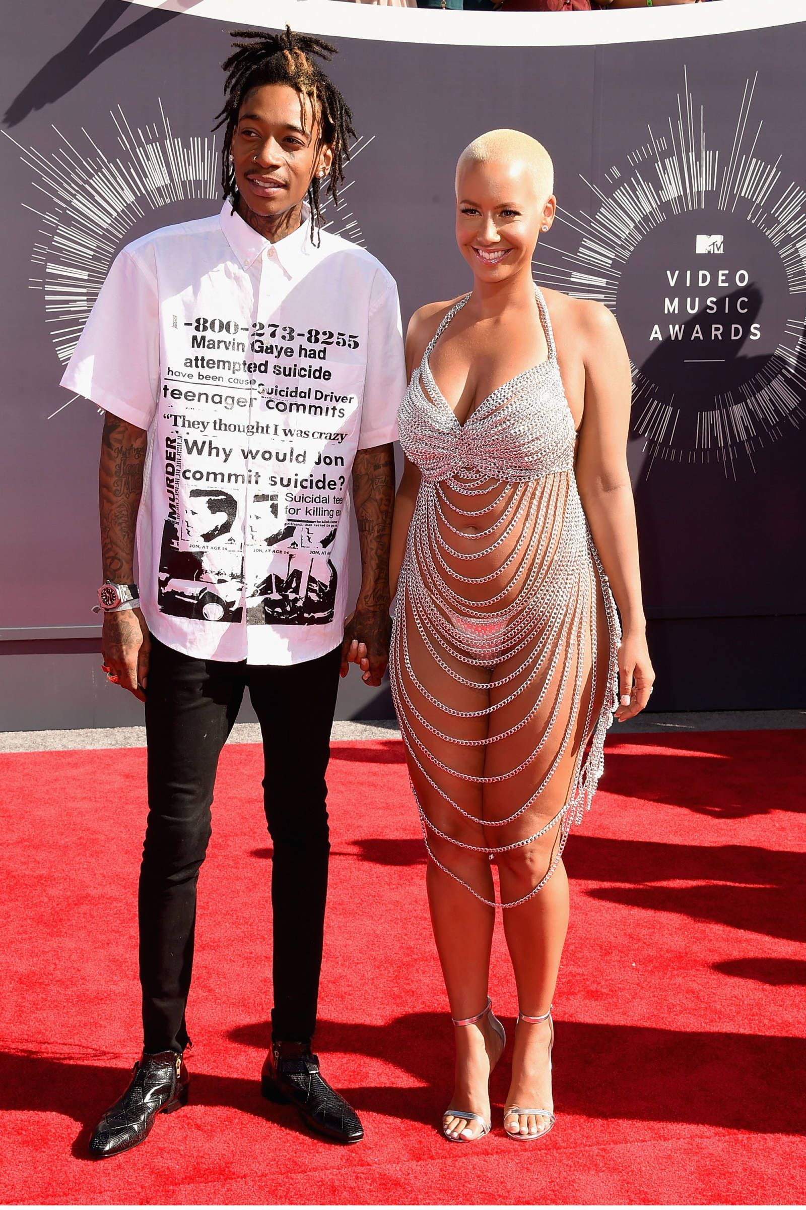 See All The Looks From The Mtv Vmas Amber Rose Fashion Red Carpet Looks