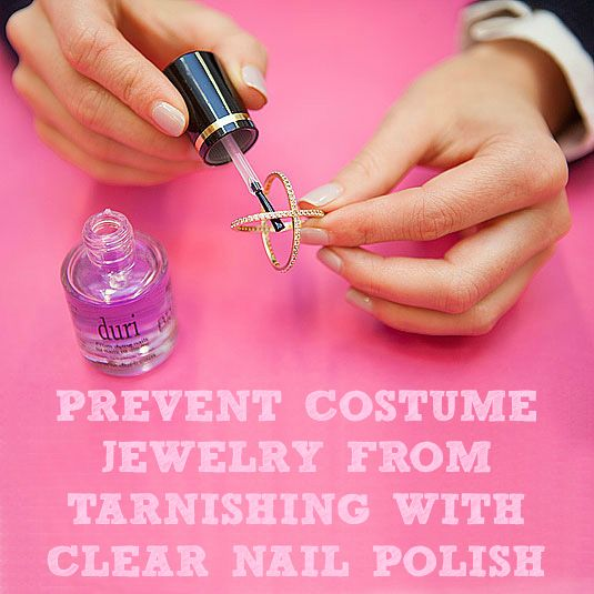 10 Surprising Things You Can Do With Nail Polish Nail Polish Hacks Nail Polish Clear Nail Polish