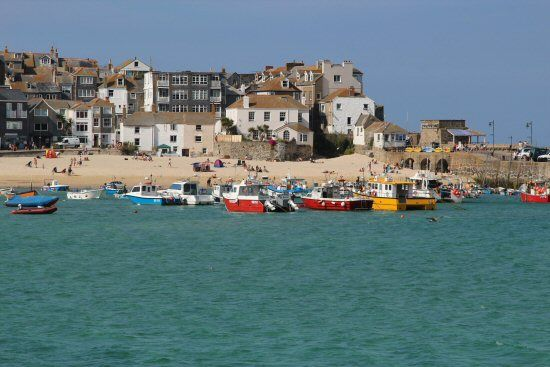 Photos Of Harbour Beach St Ives St Ives Cornwall Beautiful Places To Visit Photo