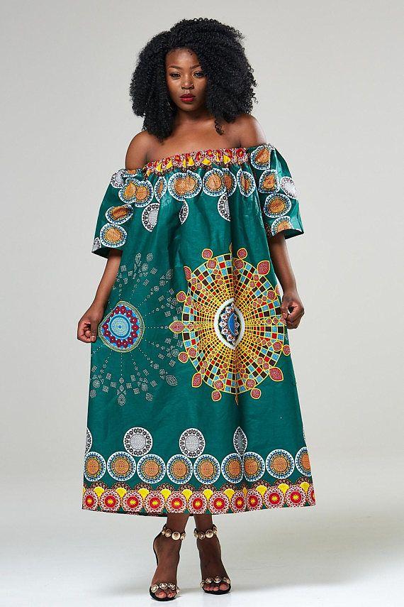 African Dress African Print Maxi Dress Maxi Dress For
