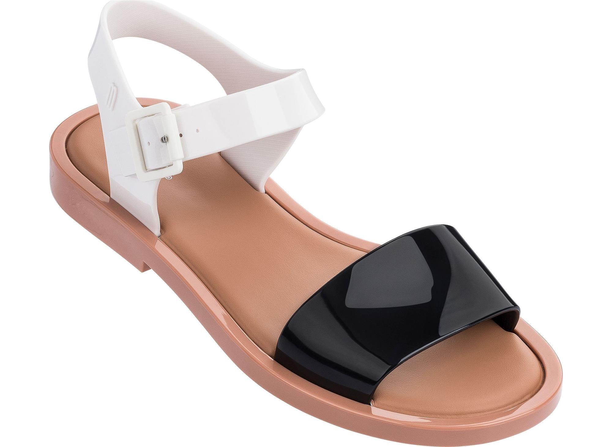 62bec216b Mar sandal   Melissa   Sandalia melissa preta, Sandálias melissa e ...