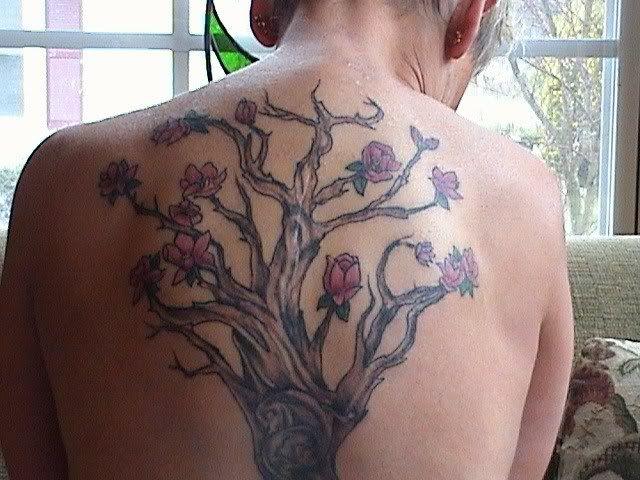 Magnoliatreetattoo Magnolia Tree W Alice Cooper In Wood 3 26