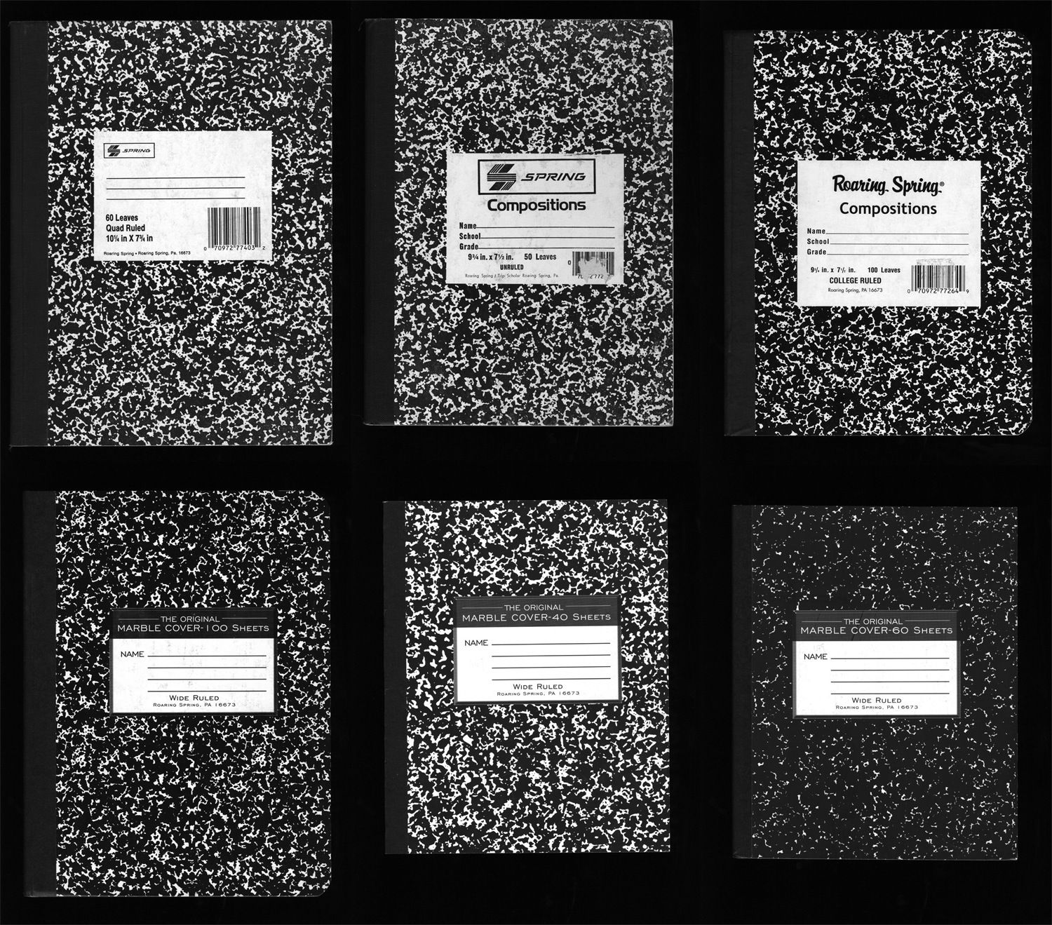 Vernacular Typography Composition Books Composition Book Composition Typography