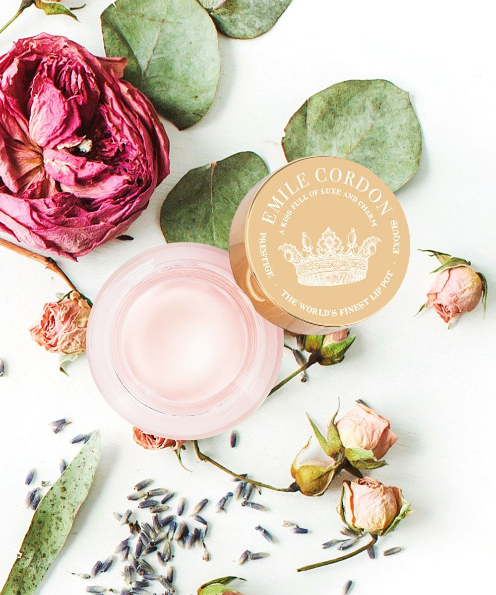 Emily Coram of New York, Cashmere-On Lip Pots   highly recommended by Vlogger Minks4all