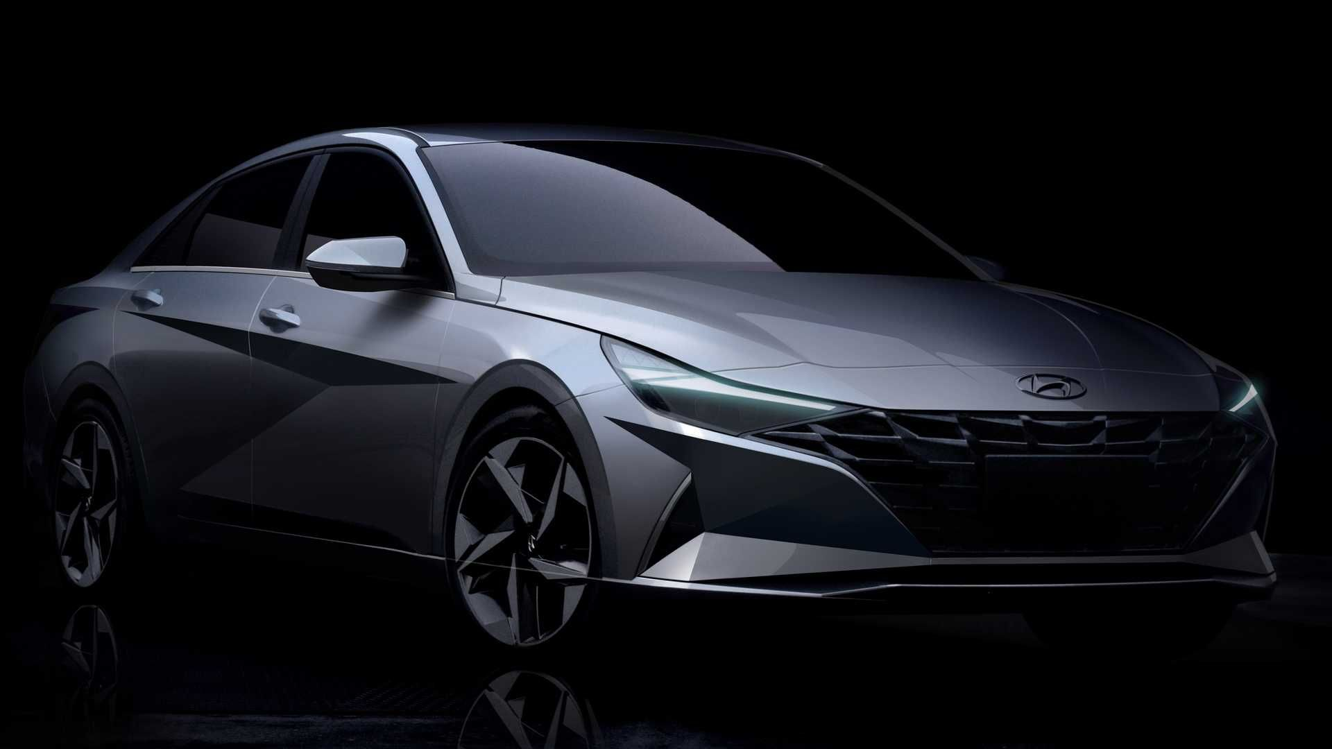 2021 Hyundai Elantra Debuts With Bigger Size, Upmarket