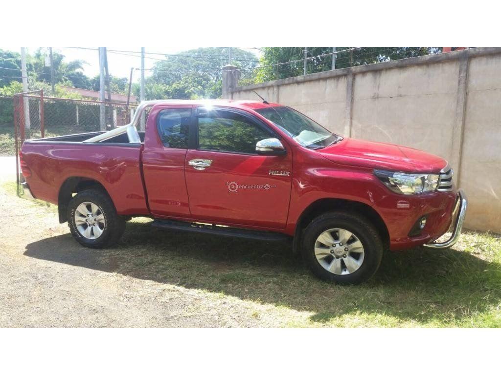 Toyota Hilux Nicaragua 2017