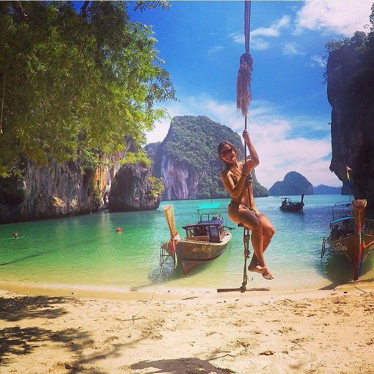 Koh Lao Lading, Hong Island, Krabi, Thailand  around the world  Pinterest ...