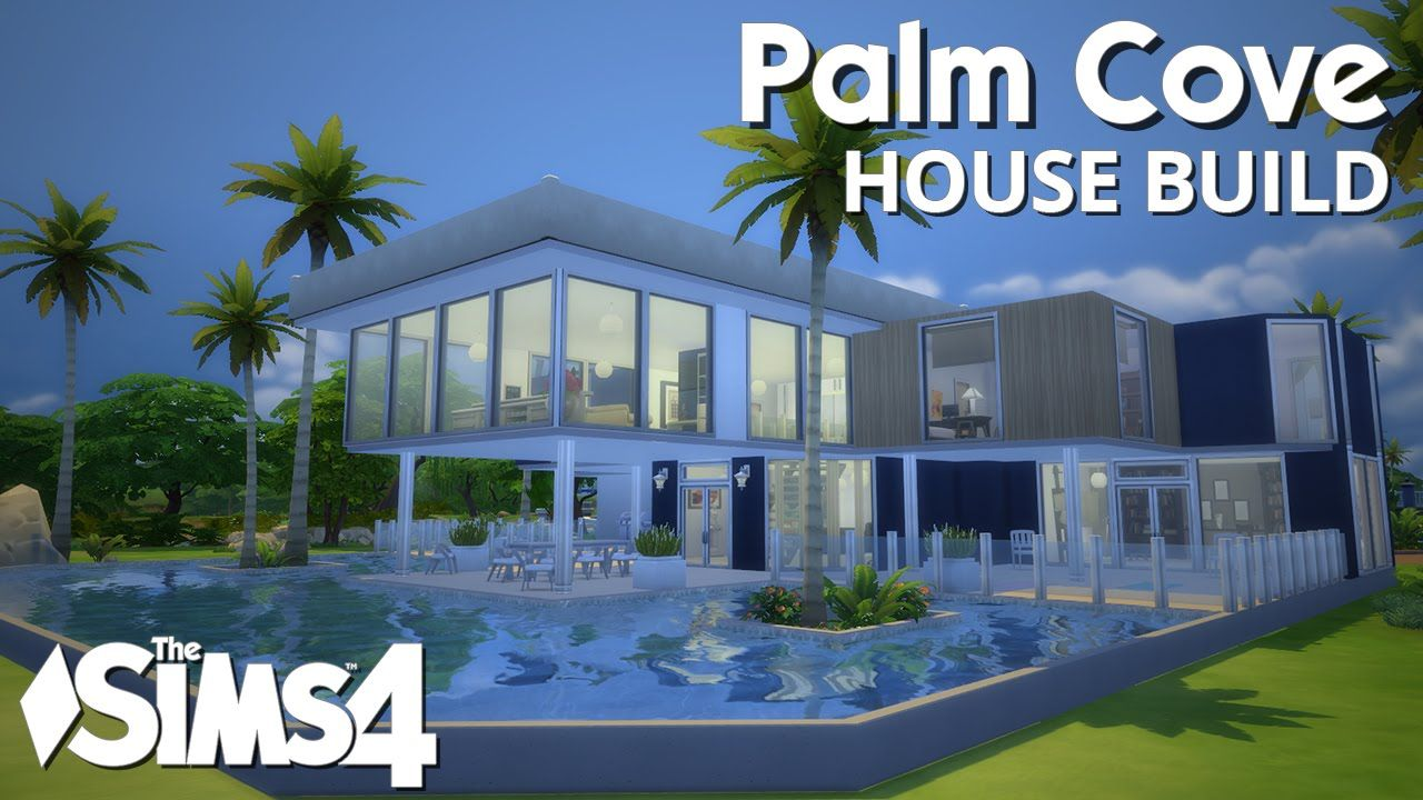 Awesome House The Sims 4 House Building Palm Cove W Simified