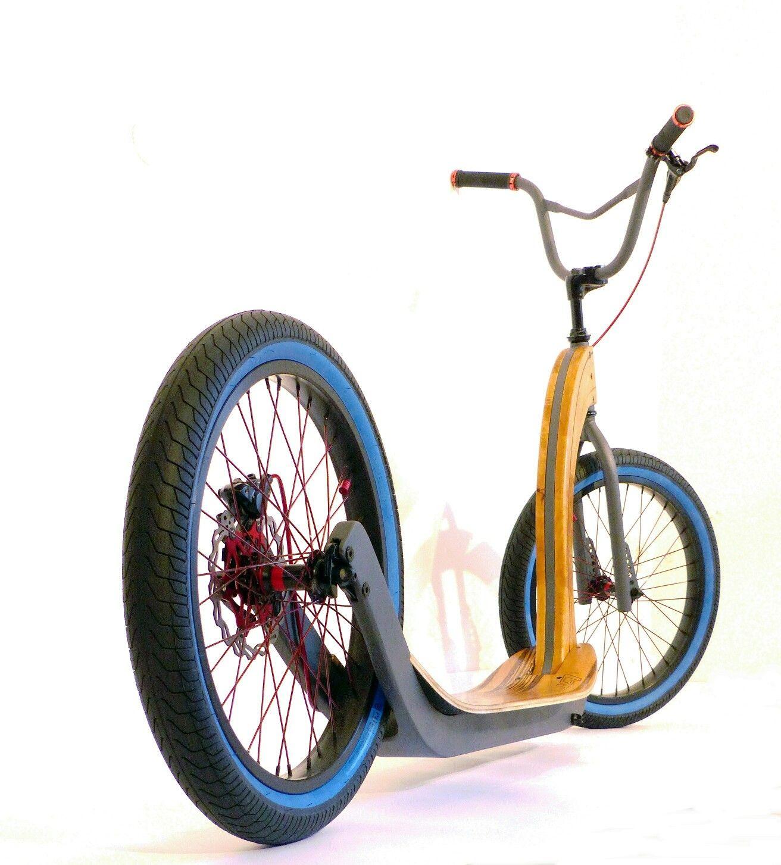 Holz Scooter Tretroller Fahrrad Design Fahrrad Shop