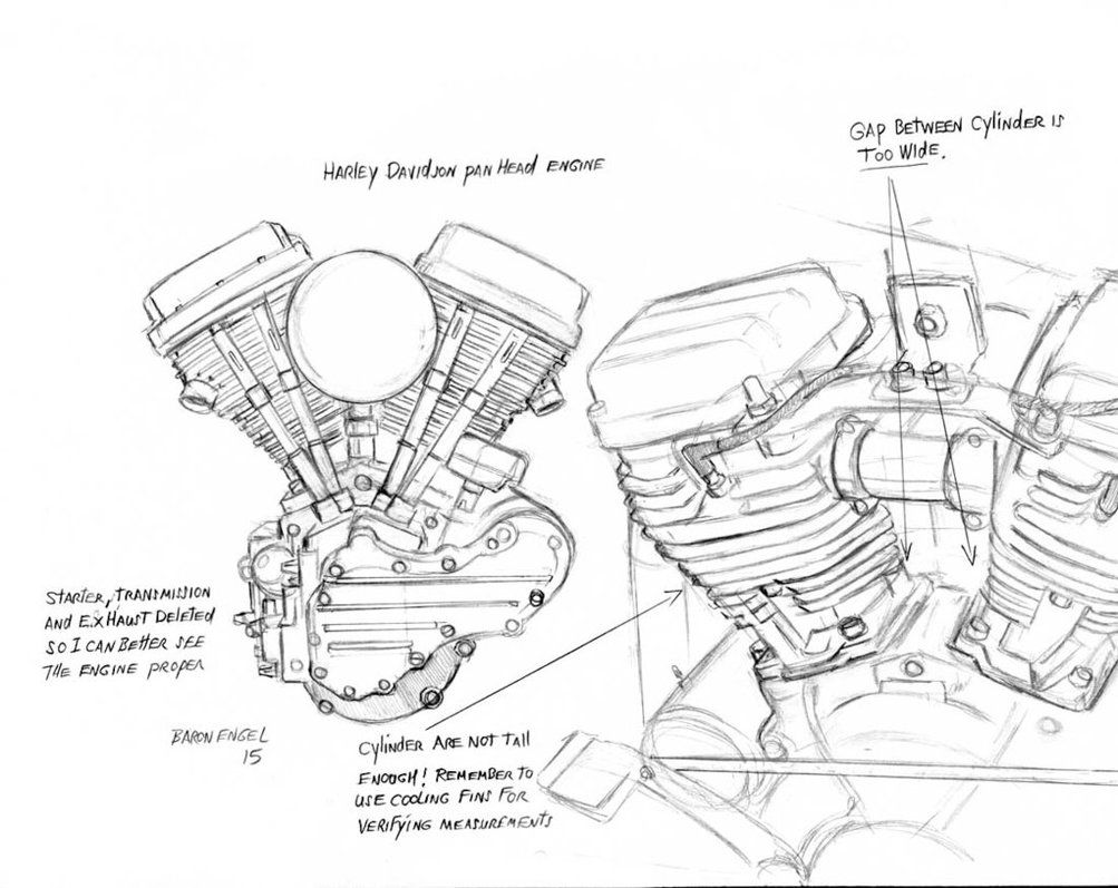 panhead transmission diagram