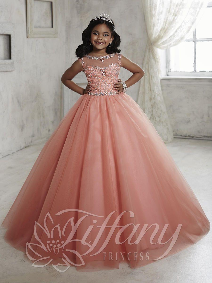 Tiffany Princess 13455 Girls Princess Dress | flower girl ...