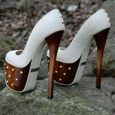 very very high heels