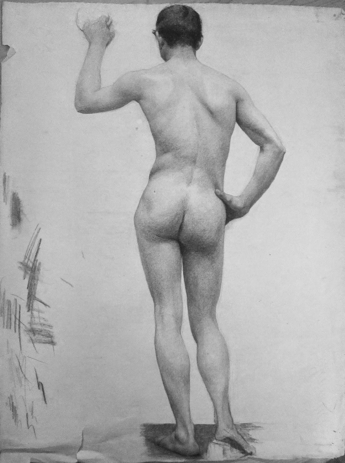 Naked drawings of people