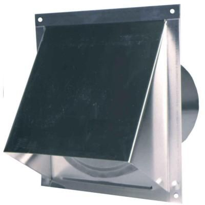 Master Flow 6 In Round Wall Vent With Screen And Damper Wva6sd