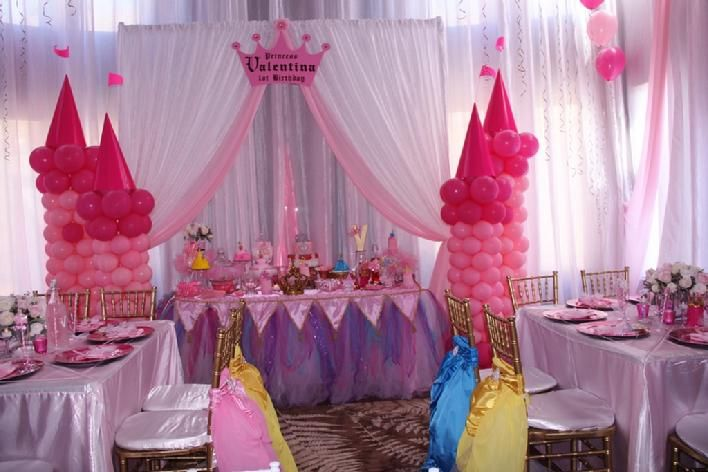 Princess theme party, Once upon a time Children Chiavari ...