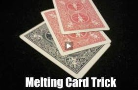 Card Trick Melting Card Illusion With Images Card Tricks
