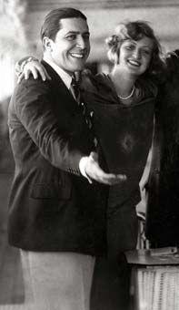 """Carlos Gardel e Isabel del Valle, """"la eterna novia de Gardel ..."""