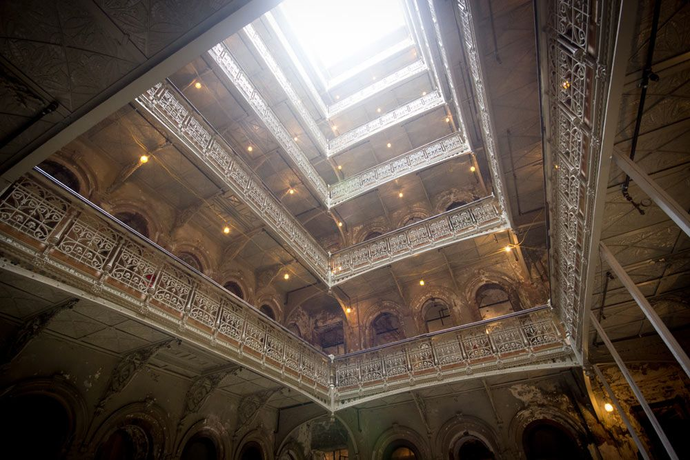 Ceiling Of The Atrium At The Beekman New York Amazing