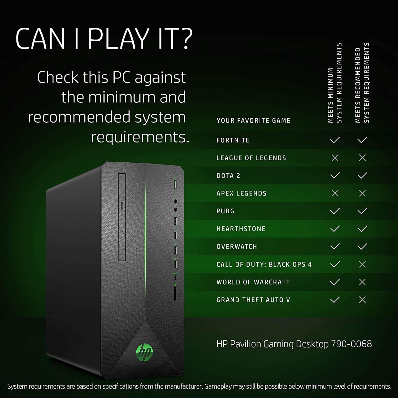 Hp Pavilion Gaming Desktop Computer Intel Core I5 8400 Nvidia Geforce Gtx 1060 16gb Ram 128gb Ssd In 2020 Games Call Of Duty Black Ops 4