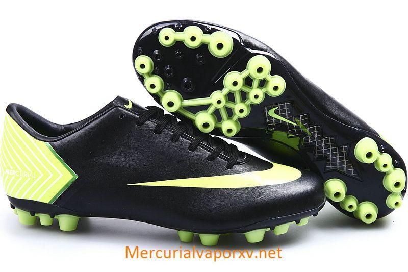 Nike Mercurial Vapor X AG Black Light Green | Chuteiras, Futebol