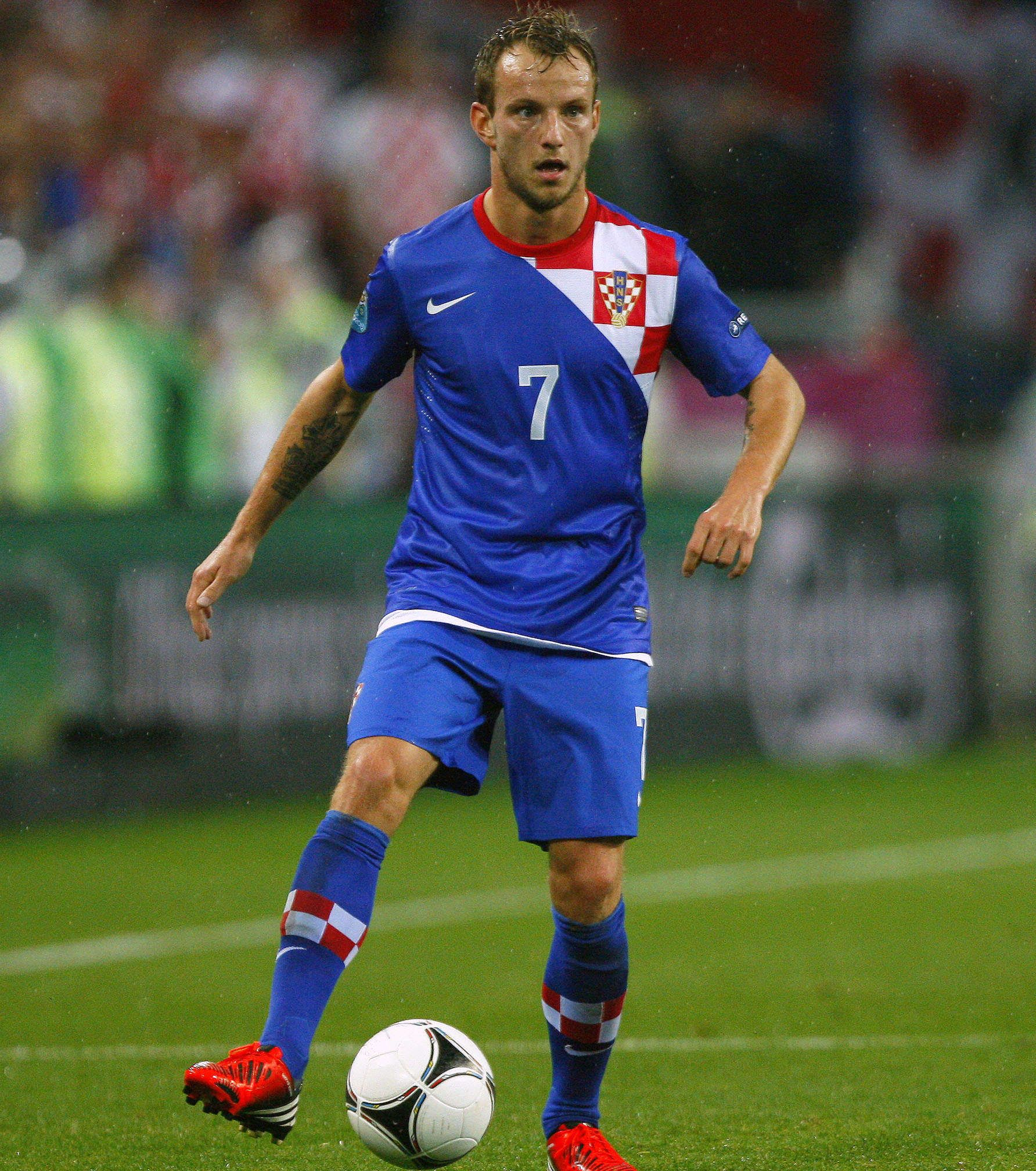 Ivan Rakitic on Croatia National Team Soccer
