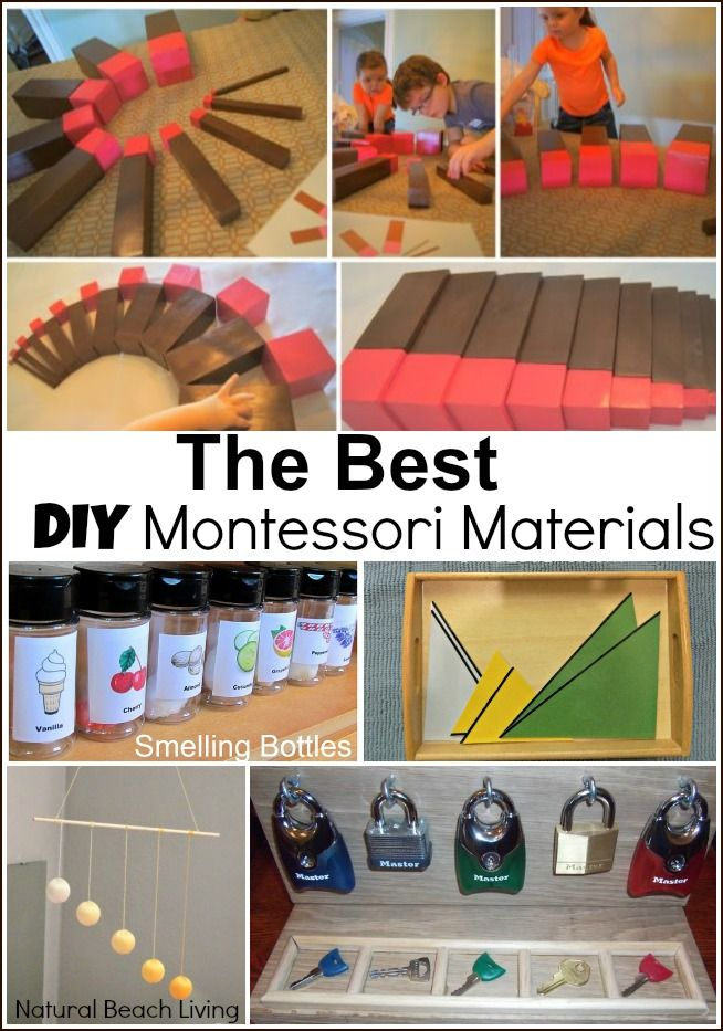 The Best Diy Montessori Materials Montessori Montessori