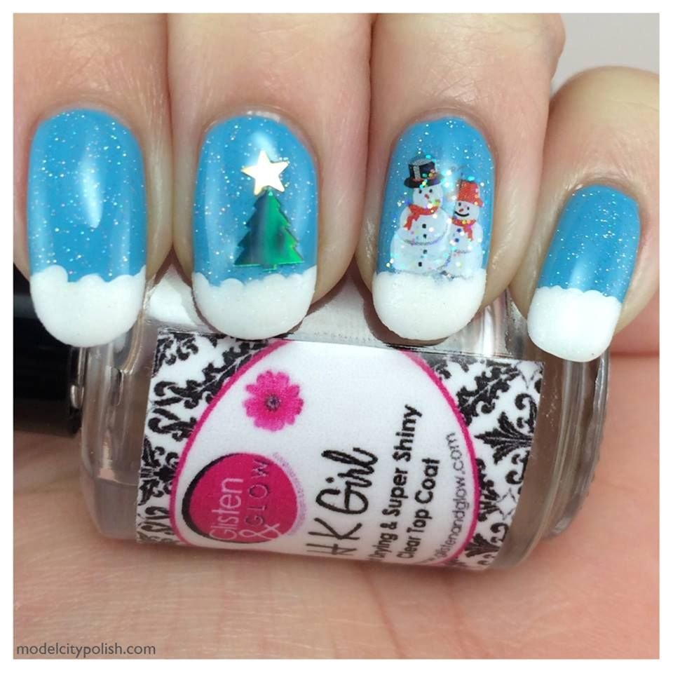 Using Christmas Nail Art from Joby Nail Art. | Christmas Nail Art ...