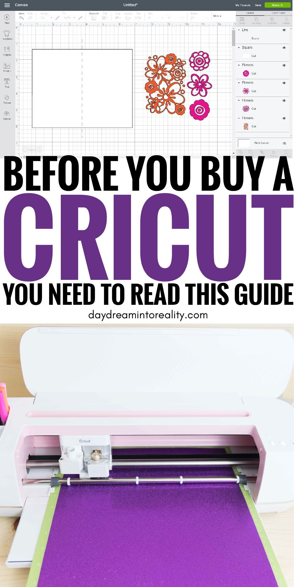 Do you want to get a Cricut? Let me save you the hours of research, and find out if a Cricut is the right fit for you or not. #cricut #cricutmaker #cricutmade #cricutexploreair2 #cricuttutorials
