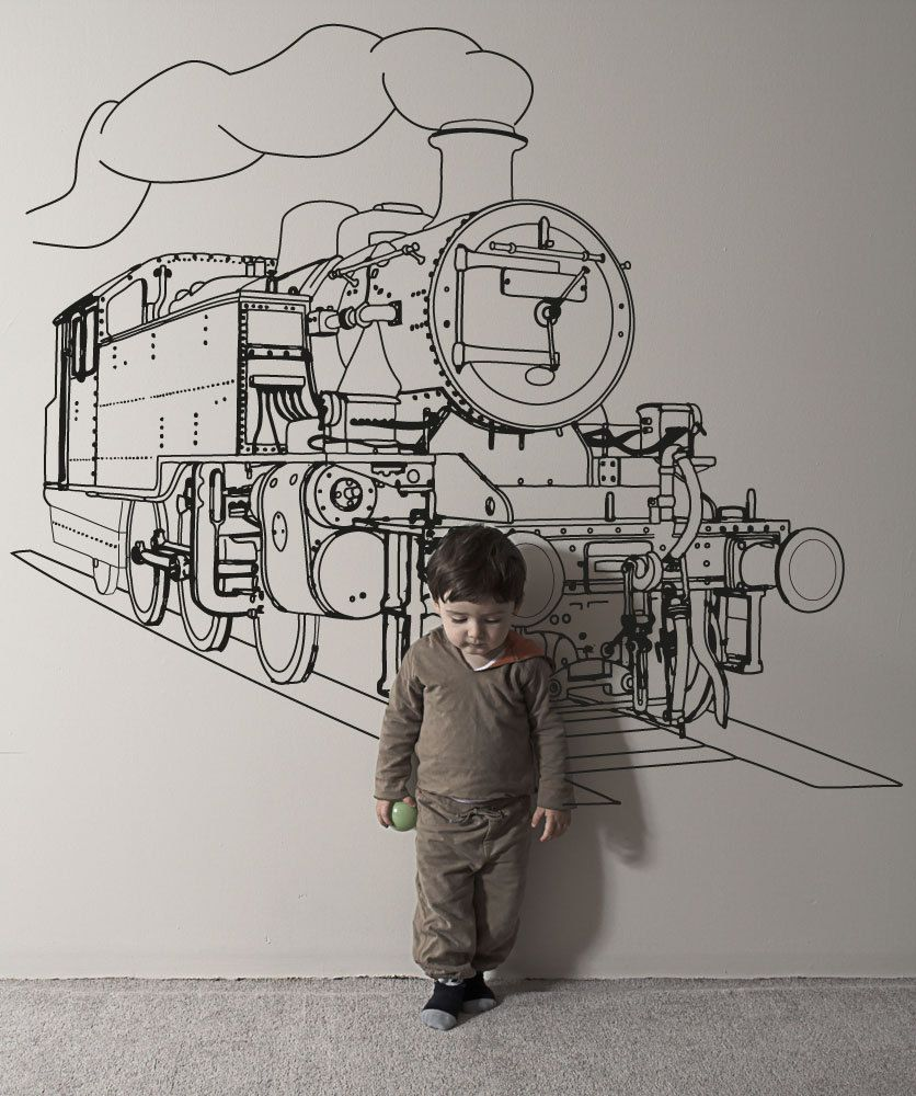 Vinyl Wall Decal Sticker Train Engine Osaa211s In 2018 For My Art Diagram By Stickerbrand 4495