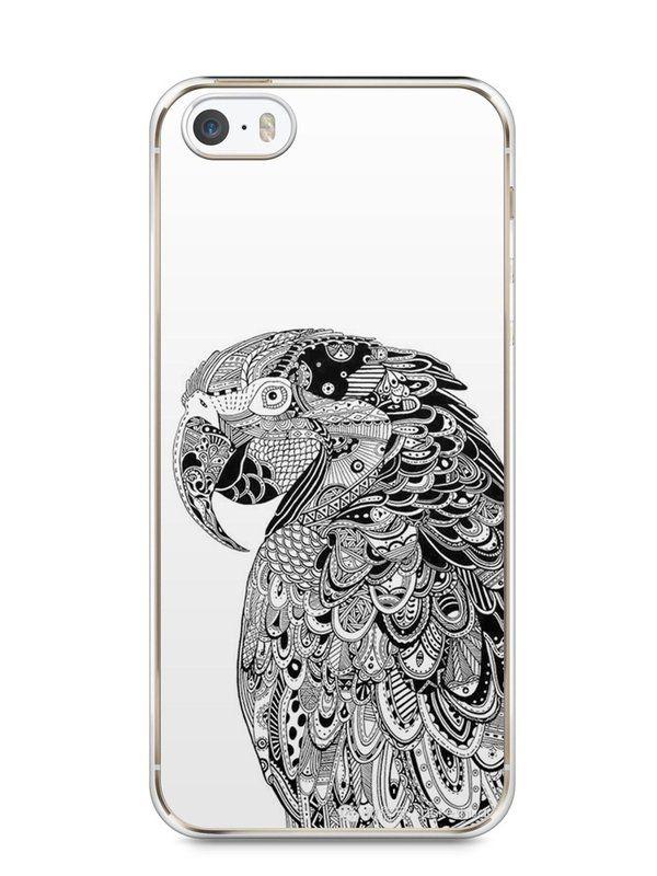 Capa Iphone 5/S Arara Artística - SmartCases - Acessórios para celulares e tablets :)