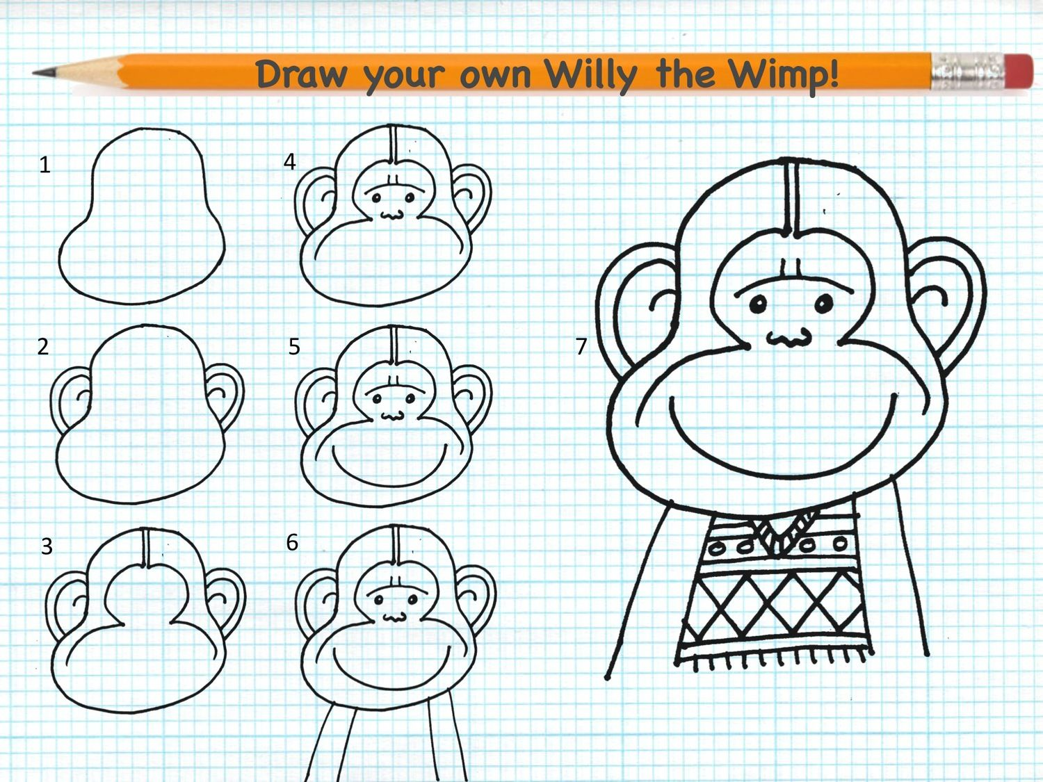 Workbooks willy the wimp worksheets : your own Willy the Wimp